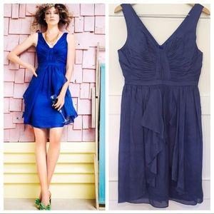Anthropologie BHLDN Slik Linen Vicacity Dress